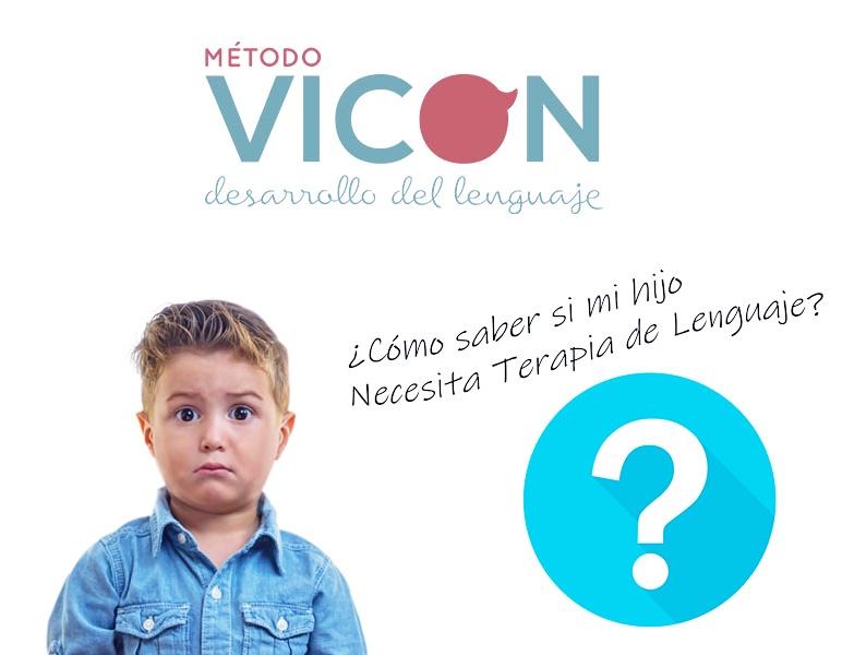 ¿Cómo saber si mi hijo necesita terapia de lenguaje?