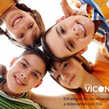 Estrategias de socialización y aprendizaje para adolescentes varones con TEA