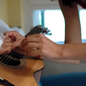 Musicoterapia en el Hospital Pediátrico