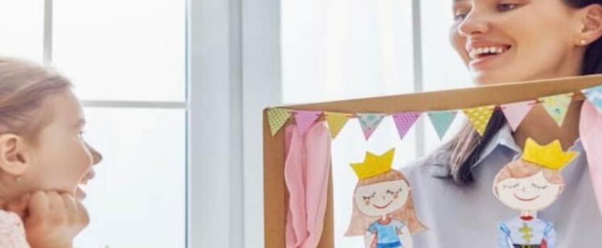 El juego de marionetas en los niños con autismo