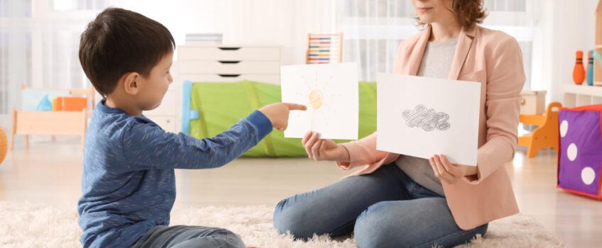 Recursos visuales para el niño no verbal