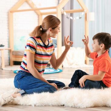 Comunicación Bimodal en los niños no verbales